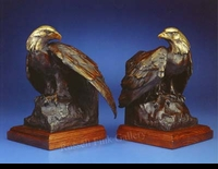 EAGLE:  EAGLE BOOKENDS