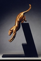 LEOPARD:  THE LEAP - <i>Maquette</i>