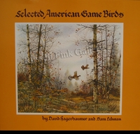 HAGERBAUMER:  SELECTED AMERICAN<br>GAME BIRDS--Signed