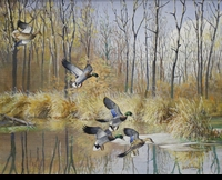 HINES:  MALLARDS</a><br><b>- SOLD</b>