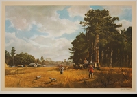 PLEISSNER:  THE QUAIL HUNTERS</a><br><b>- SOLD</b></font>