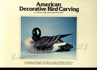 AMERICAN DECORATIVE BIRD CARVING