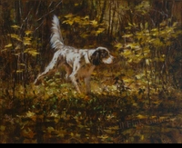 PASQUA:  ENGLISH SETTER</a><br><b>- SOLD</b>