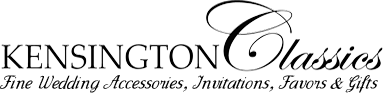 Kensington Classics - Fine Wedding Accessories, Invitations, Favors & Gifts