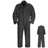 CT10CH Charcoal Twill Action Back Coverall