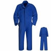 CT10EB Electric Blue Twill Action Back Coverall