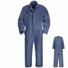 CT10PB Postman Blue Twill Action Back Coverall