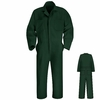 CT10SG Spruce Green Twill Action Back Coverall