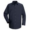 SP16NV Long Sleeve Men's Navy Specialized Pocketless Shirt
