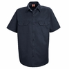 ST62NV Short Sleeve Navy Utility Work Shirt (formerly Big Ben)