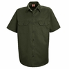 ST62OG Short Sleeve Olive Green Utility Work Shirt (formerly Big Ben) - Discontinued