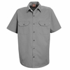ST62SV Short Sleeve Silver Utility Work Shirt (formerly Big Ben)