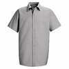 SP26LA Men's Light Grey Short Sleeve Specialized Pocketless Shirt