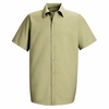 SP26LT Men's Light Tan Short Sleeve Specialized Pocketless Shirt
