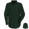 SC10SG Long Sleeve Spruce Green 100% Cotton Shirt