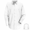 SC10WH Long Sleeve White 100% Cotton Shirt