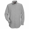 SR70GY Long Sleeve Men's Gray Executive Oxford Button-Down Shirt