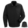 JT22BK Black Slash Pocket Jacket