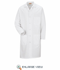 KK18WH Unisex ESD/ANTI-STAT White Tech Coat