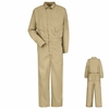 CLD4KH 6 oz. EXCEL FR® Flame-resistant Khaki Deluxe Coverall