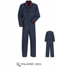CT30NV Navy Insulated Twill Coverall