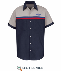 SP24QC Ford� Short  Sleeve Technician Shirt