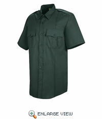 HS1404 Women's Spruce Green Sentry� Plus Short Sleeve Shirt With Zipper