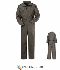 CEB2GY EXCEL- FR� Medium Grey Deluxe Coverall