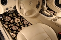 Oriental Plush Carpet Floor Mats