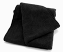 Black Microfiber Wheel Detailing Towels