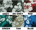 Hawaiian Print Custom Canvas Seat Covers for Trucks SUVs & Vans