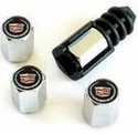 Theft Deterrent Valve Stem Logo Caps