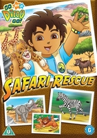 Arabic cartoon dvd DIEGO SAFARI RESCUE  (PROPER ARABIC FUS-HA)