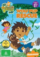 arabic cartoon dvd GO DIEGO GO WOLF PUP RESCUE proper arabic (fus-ha)