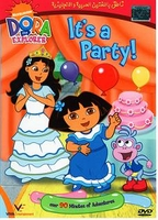 DORA in arabic IT'S A PARTY ARABIC DVD CARTOON DVD new