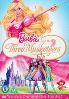 Arabic famous disney cartoon BARBIE AND the 3 muskteers proper arabic (fusha)