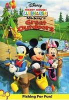 Arabic funny cartoon dvd MICKEY MOUSE 2010 GREAT OUTDOORS ENGLISH SUBTITLES