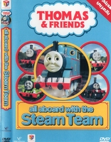Arabic cartoon dvd for kids  THOMAS AND FRIENDS ALL ABOARD WITH THE STEAM TEAM  proper arabic (fus-ha