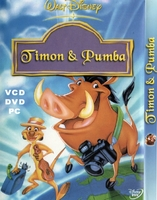 Timon & pumba arabic cartoon dvd kids Children,movie  egyptian dailect تيمون وبومبا