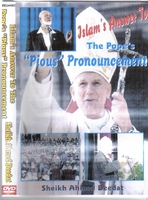 Ahmed deedat and the pope awosme lecutre