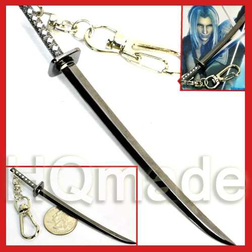 Final Fantasy Vii Advent Children Metal Key Chain