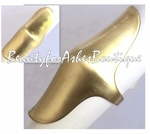 2  INCH KNUCKLE ELONGATED FLAT MATTE GOLDTONE RING JEWELRY