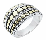 DESIGNER INSPIRED ENTOURAGE DOT RING