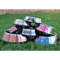 Personalized Stainless Steel Dog Bowls