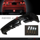 06-11 Honda Civic 4DR Sedan MUG RR Rear Bumper Lip with LED Brake Light