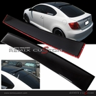 05-09 Scion TC ABS Rear Roof Window Visor Spoiler