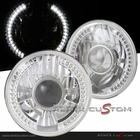 "Universal 7"" Round 34xSMD LED Projector Headlights"