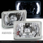 Universal 4x6 SMDx16 LED Headlights