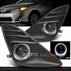 12-13 Toyota Camry Halo Angel Eyes Projector Fog Lights Kit (will not fit SE)