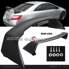 06-10 Honda Civic 2DR Coupe Rear Trunk Spoiler Wing Black